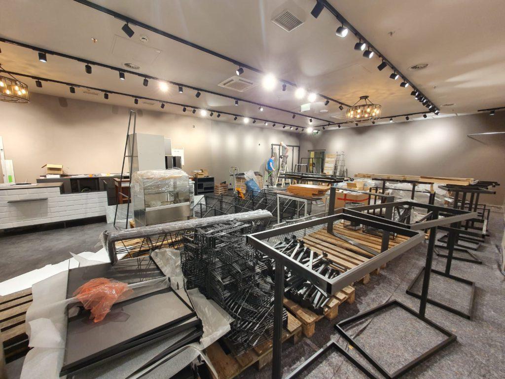 Möbelmontage in Shops (Möbelgeschäften)